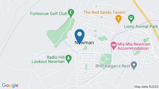 Newman Hotel Map