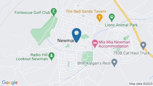 Seasons Hotel Newman Map