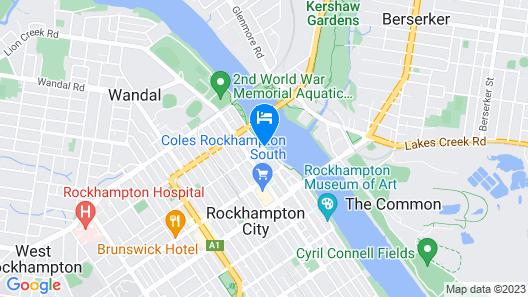 Quest Rockhampton Map