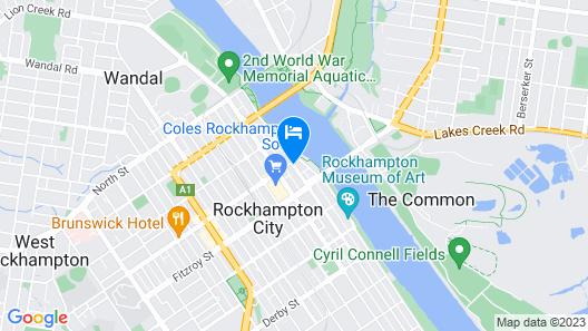Empire Apartment Hotel Map