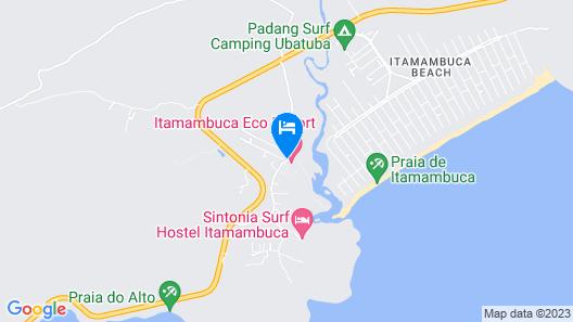 Itamambuca Eco Resort Map