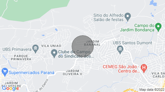 Accommodation Home Guarulhos Map