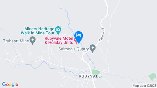 Rubyvale Motel & Holiday Units Map