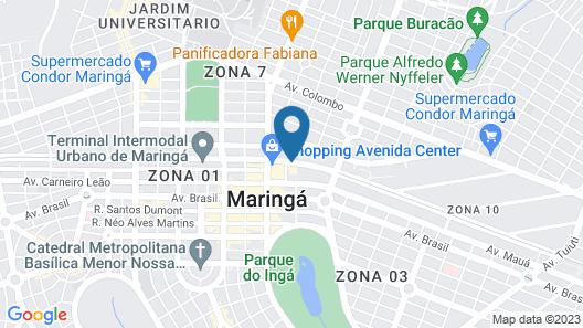 ibis budget Maringa Map