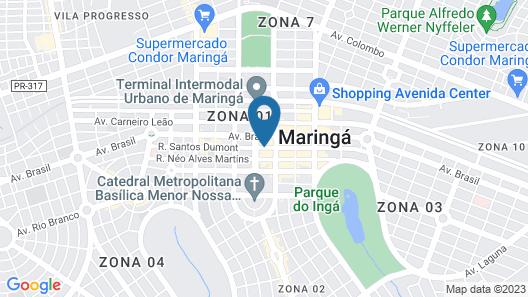 Harbor Self Cidade Verde Map