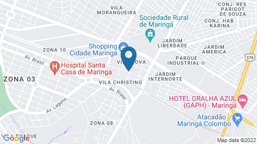 Hotel Hiperion Map