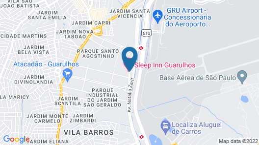 Sleep Inn Guarulhos Map