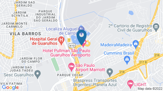 Pullman São Paulo Guarulhos Airport Map