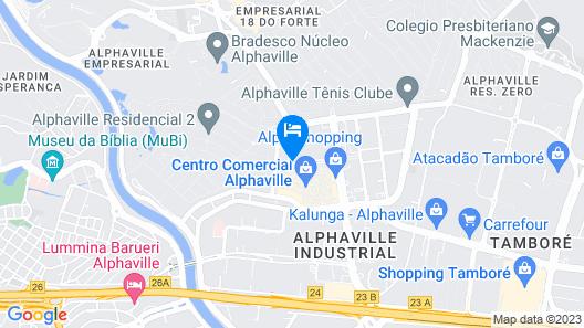 Blue Tree Premium Alphaville Map