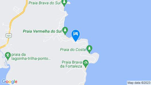 Casa Praia Particular Ubatuba Map