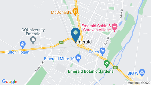 Emerald Park Motel Map