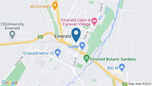 Emerald Central Hotel Map