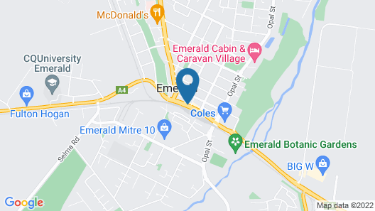 Nightcap at Emerald Star Hotel Map