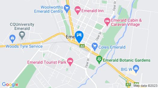 Nightcap at Emerald Star Hotel Map