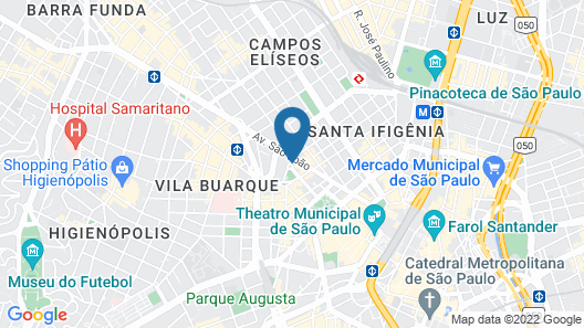 San Raphael Hotel Map