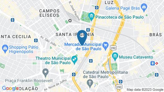 Dan Inn Planalto São Paulo Map