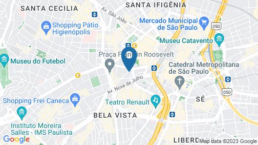 Novotel Sao Paulo Jaragua Map
