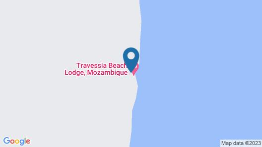 Travessia Beach Lodge Map