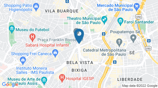 155 Hotel Map