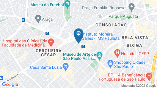 ibis Sao Paulo Paulista Map
