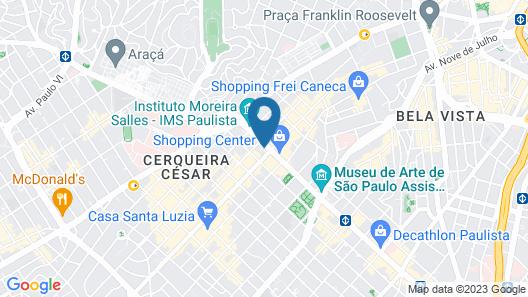 Melia Paulista Map
