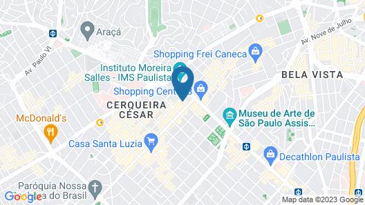 Renaissance São Paulo Hotel Map