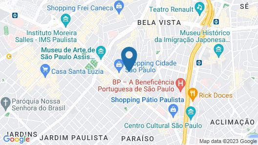 Maksoud Plaza Map