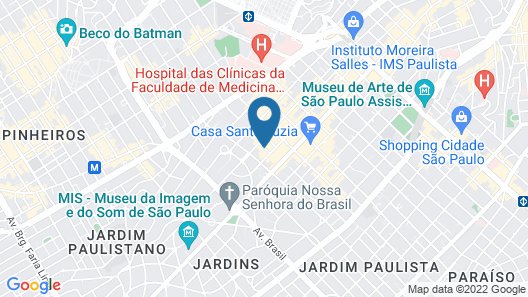 Hotel Fasano Sao Paulo Map