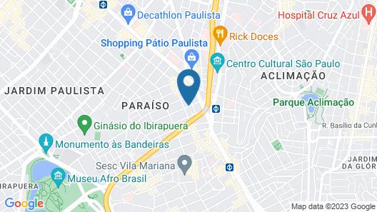 TRYP by Wyndham Sao Paulo Paulista Paraiso Map