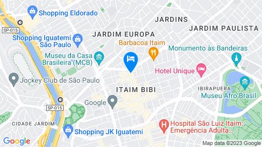 Melia Jardim Europa Map