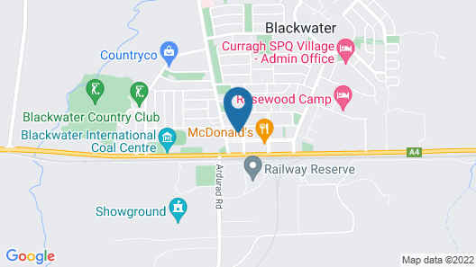 Miners Rest Motel Map