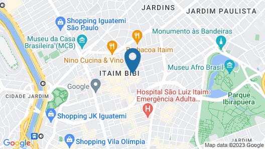 Staybridges Suítes São Paulo Map