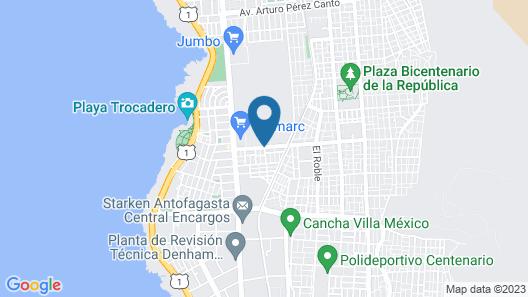 Hostal El Salitre Map