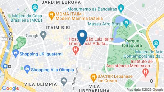 Nomah Vila Nova Conceição Map