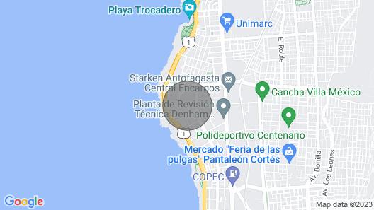 Comfortable Apartament Nearest to Interesting Places on Antofagasta, Chile Map
