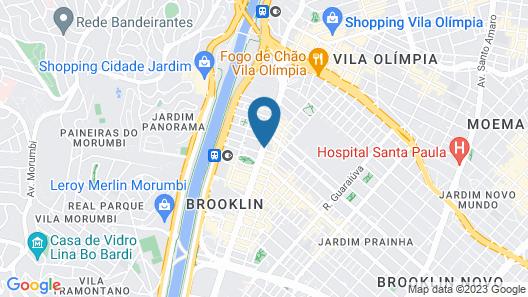 Estanplaza Berrini Map