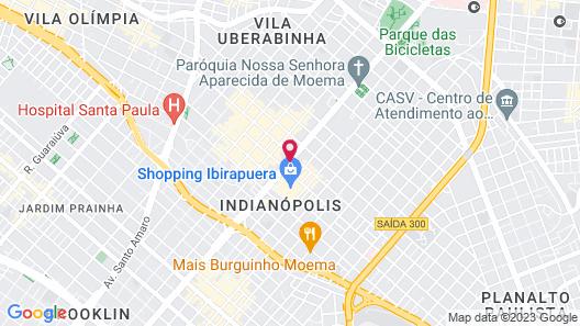 Bourbon Convention Ibirapuera Map