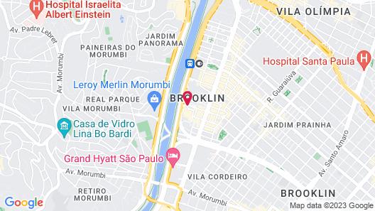 Sheraton Sao Paulo WTC Hotel Map