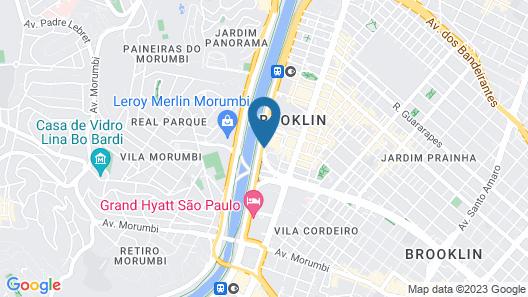 Hilton Sao Paulo Morumbi Map
