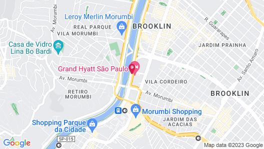 Grand Hyatt Sao Paulo Map