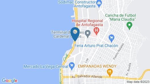 Hampton by Hilton Antofagasta Map