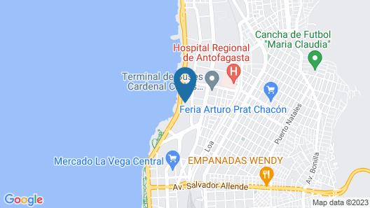 Propiedades Romero Map