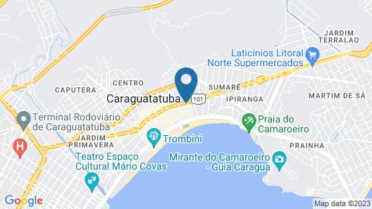 Casa Grande Pousada Hotel Map