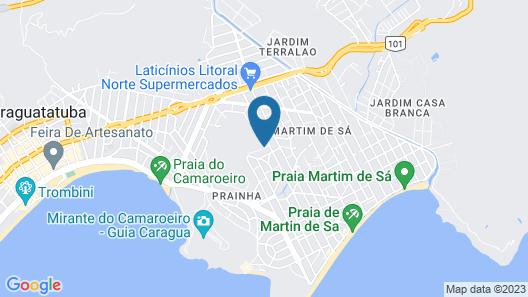 Pousada Morada do Arquiteto - Unidade Martin de Sá Map