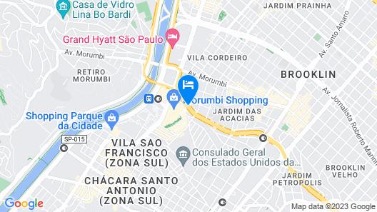 ibis Sao Paulo Morumbi Map