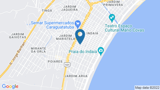 Hotel Pousada Paradise Map