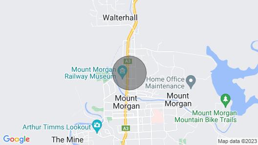 Golden Mount Rest, 10 Guest's Max, 1 Double, 8 Single's Map