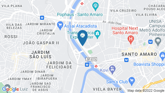 Hotel Transamerica São Paulo Map