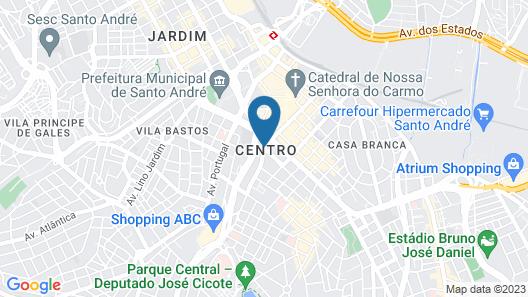 Hotel Plaza Mayor Map