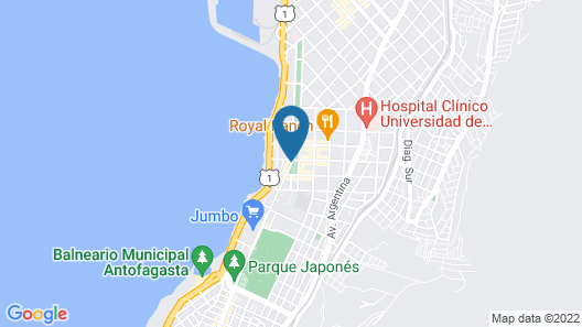 Enjoy Antofagasta Map